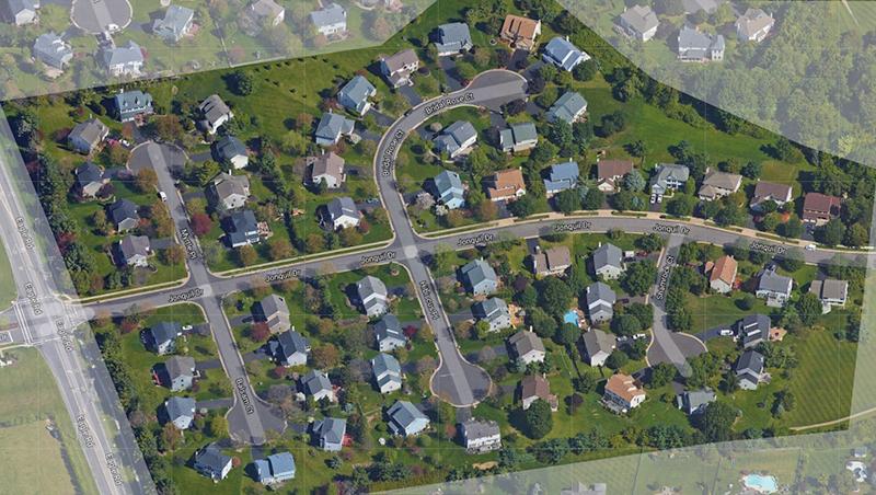 Estates I Aerial